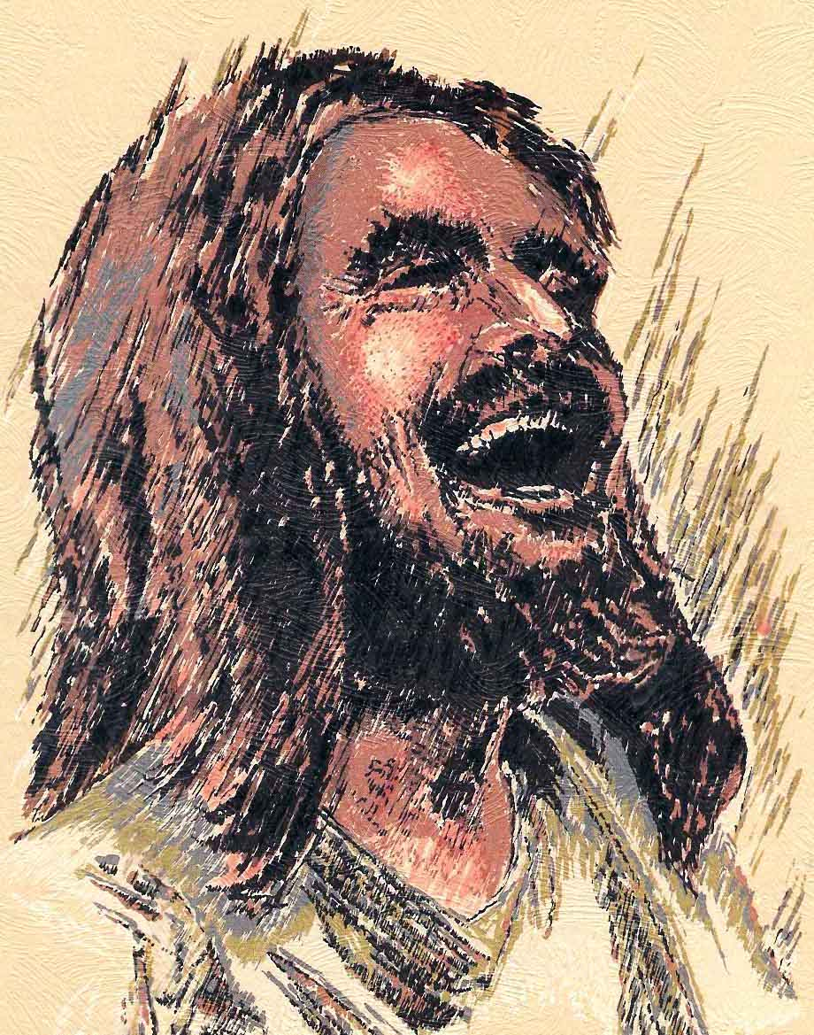 Image result for laughing Jesus