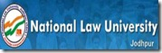 national law university jodhpur