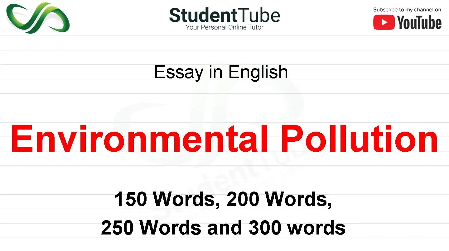 environmental pollution or its affects   student tube