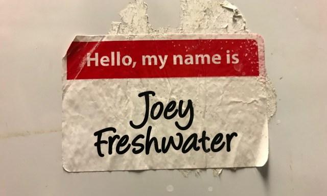 Dear Joey Freshwater Volume III