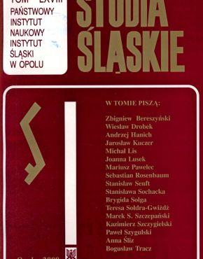 Studia Śląskie tom 68