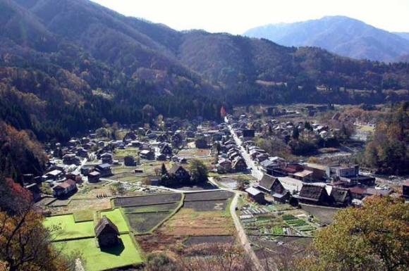 chuubu - Gifu-ken, Shirakawa-gou