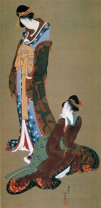 grande artista ombra padre miss hokusai sarusuberi katsushika oui (2)
