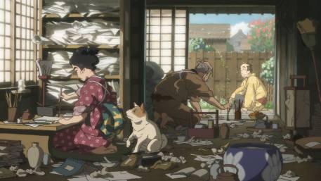 hokusai miss figlia anime sarusuberi (3)