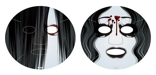 maschere di bellezza facciali giapponesi sadako vs kayako (2)