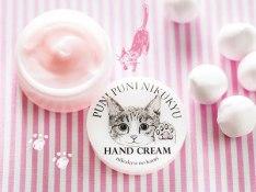 """Crema per le mani al profumo di """"nikukyuu"""" (cuscinetti dei gatti)"""