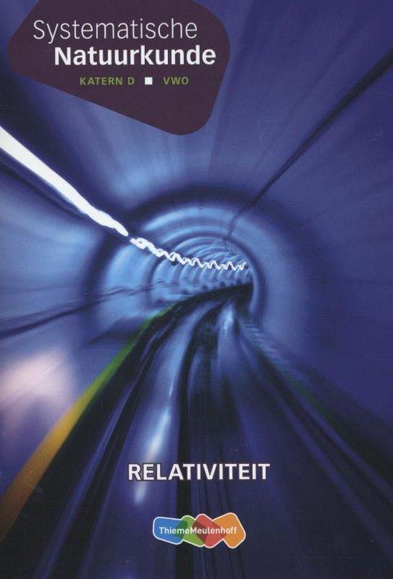Systematische natuurkunde katern relativiteit