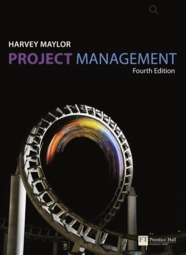 Project Management 9780273704324