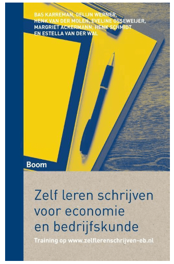 Zelf leren schrijven voor economie en bedrijfskunde