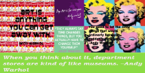 Andy Warhol Quotes and Art