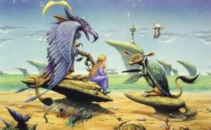 Illustration de Rodney Matthews.