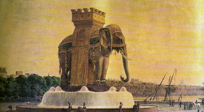 L'éléphant de la Bastille