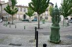 Fontaine Wallace verte, Place Mitchell, Bordeaux.