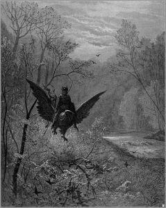 Gustave Doré, illustration du Roland Furieux, poème épique de Ludovico Ariosto.