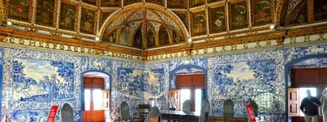 Salle des blasons du Palais National de Sintra.