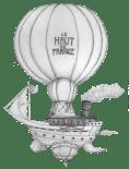 Visuel pour le poster réalisé dans le cadre du Mardi des Chercheurs à l'U-Mons (Belgique) : Steampunk en Hauts-de-France, réenchanter notre patrimoine industriel