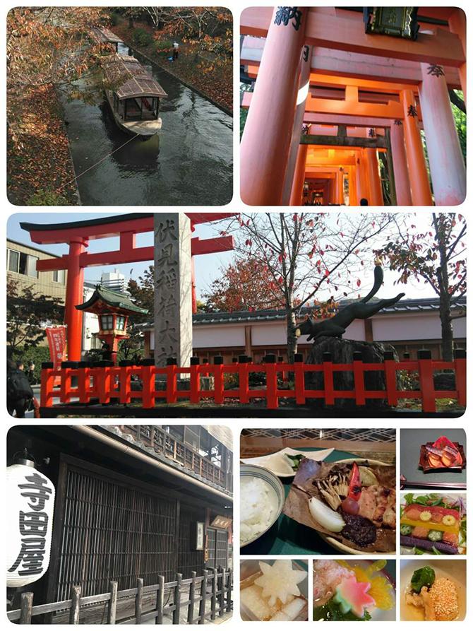 京都の伏見稲荷大社にいってきました。