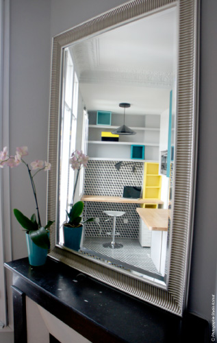 Un petit appartement Haussmannien reboost  paris