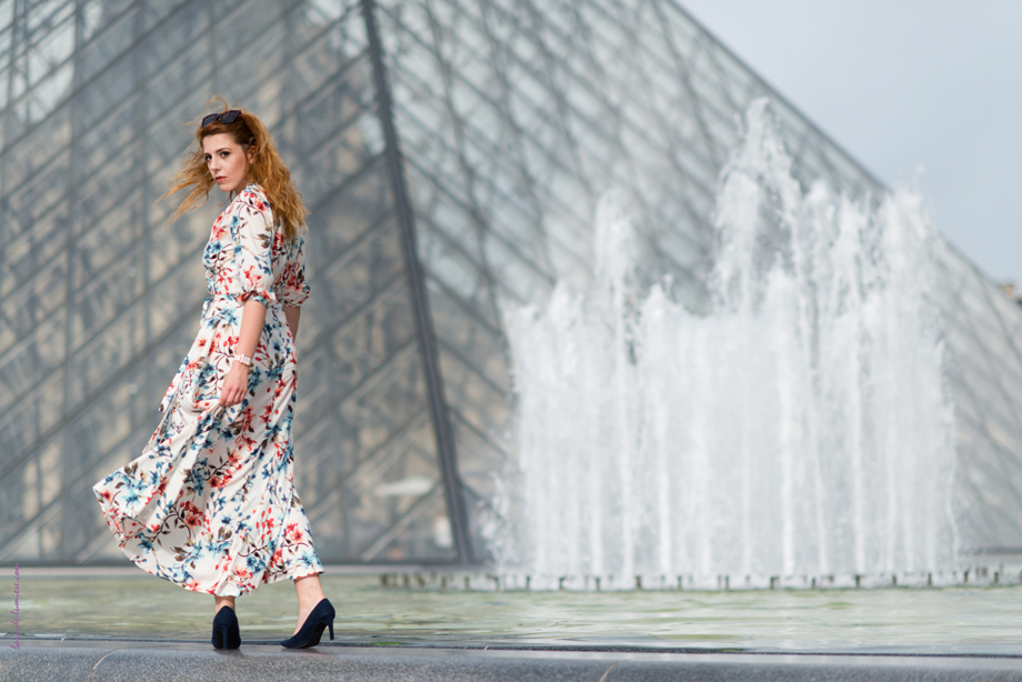 Photo shooting au Louvre