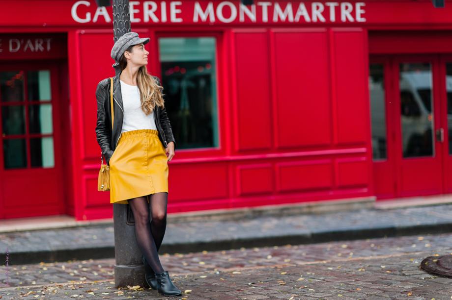 photos de mode à Montmartre