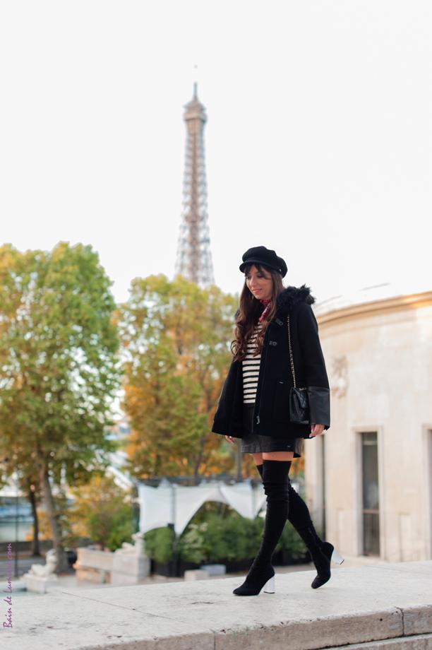 Shooting photo dans le Seizième arrondissement de Paris