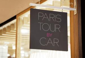 Paris tour by car