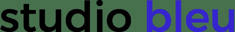 Logo studio bleu