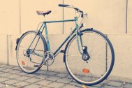 mein Rennrad aus den 60igern