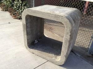Concrete Public Furniture