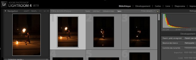 Lightroom 4 maintenant disponible