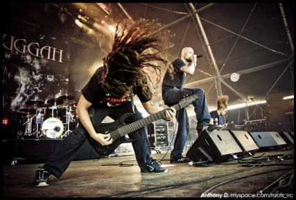 Meshuggah by Anthony Dubois