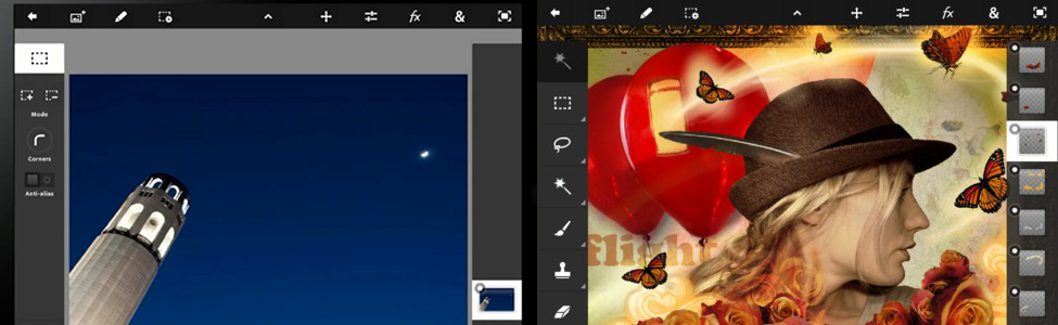 Photoshop pour Ipad 2