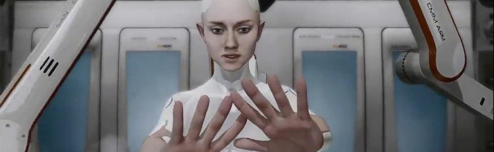 Démo technique PS3: Kara - Quantic Dreams