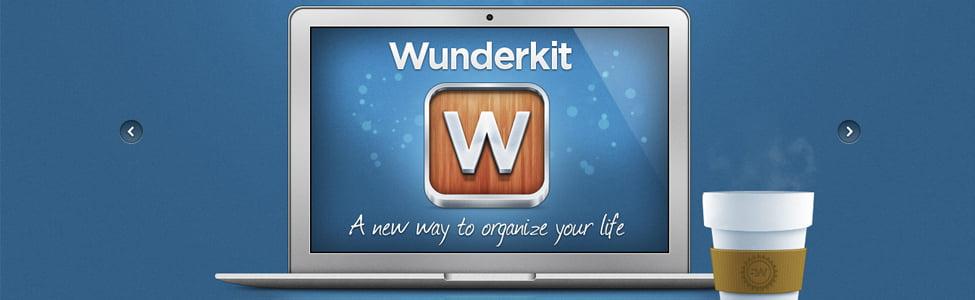Site Web: Wunderkit, un gestionnaire de projet en ligne