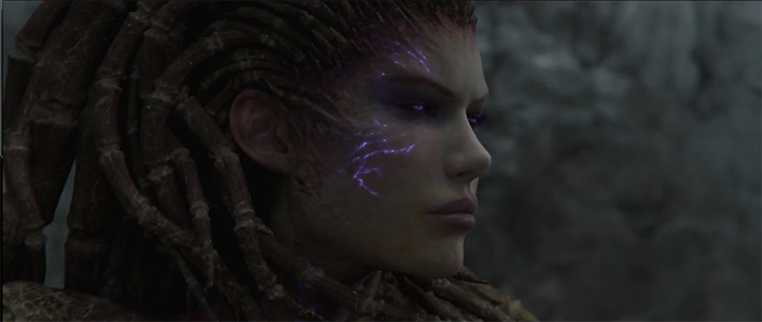 Cinématique pour Starcraft 2: Heart Of The Swarm