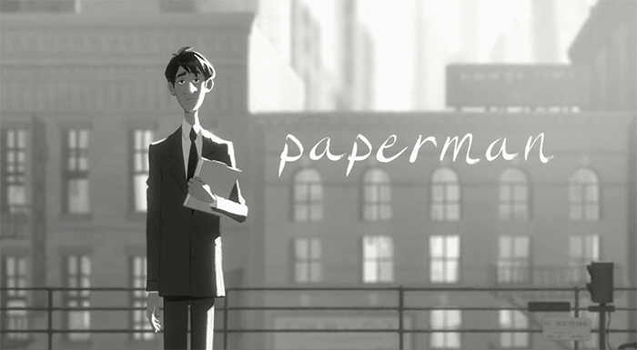 Court Métrage: Paperman
