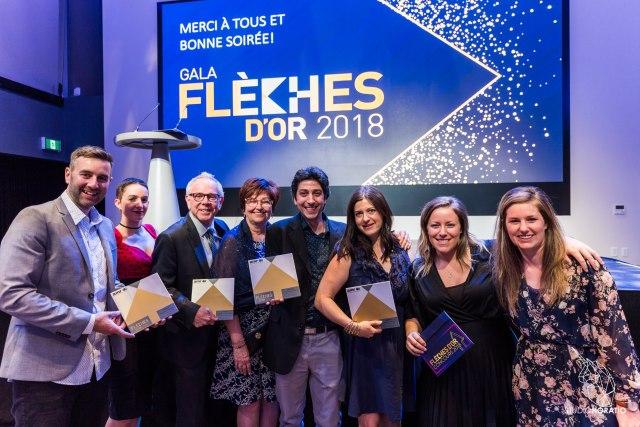 Gala flèches d'or 2018