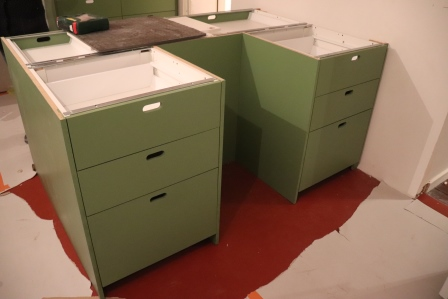 ikea, kitchen, custom panels, studio jar, studio, jar, roselyn tan, oak, vernier, mdf