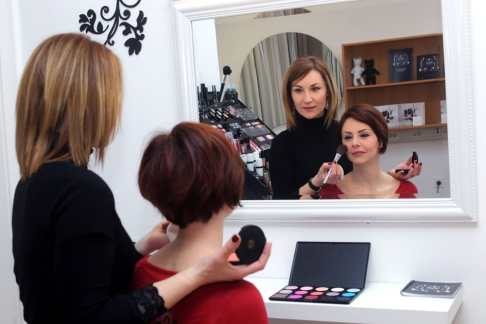 Koper, 01.03.2013 Make up studio Lepa.Si Barbara Husu