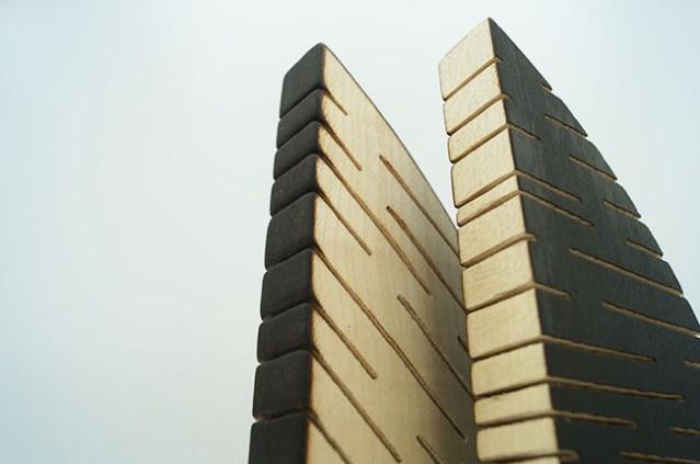 sculpture artisanale - fabrication france - artisanat d'art - menuiserie - trophée en bois décoration