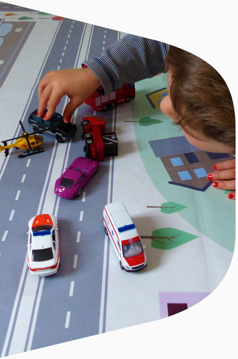 routes pour petites voitures