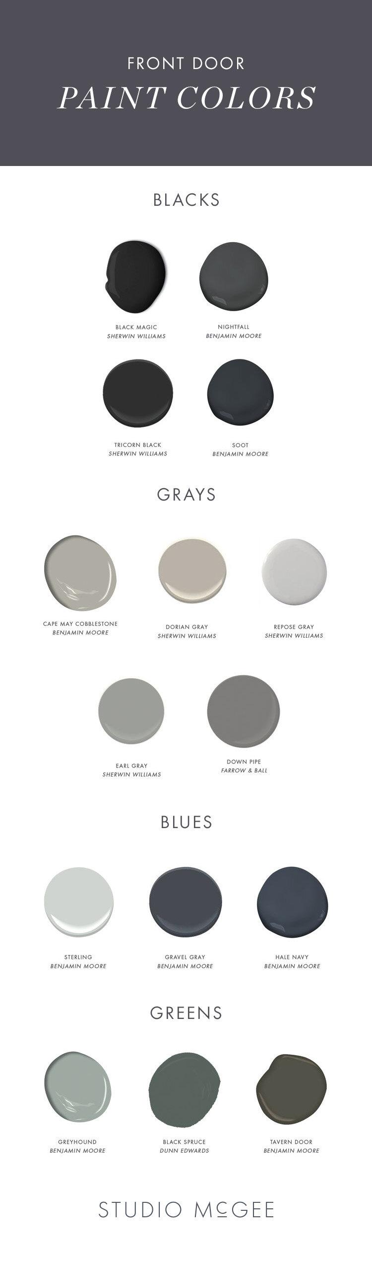 Soft Black Paint Color : black, paint, color, Black, Paint, Colors, Studio, McGee
