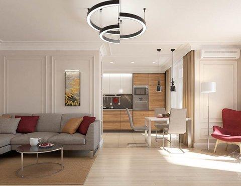 дизайн интерьера квартиры 6