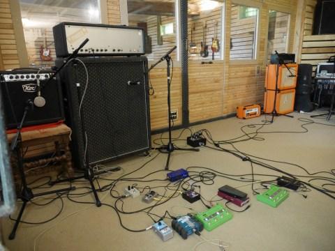 studiolaboiteameuh - prise de son guitare
