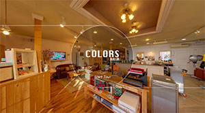 Colors Hairの360°VR