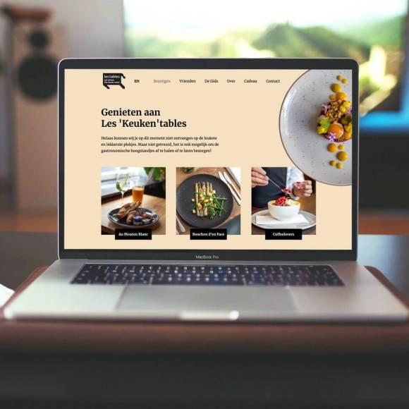 Website voor Les Tables