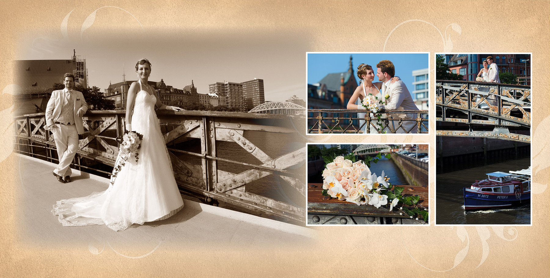 Hochzeitsfotograf in Hamburg mit Hochzeitsfotos und