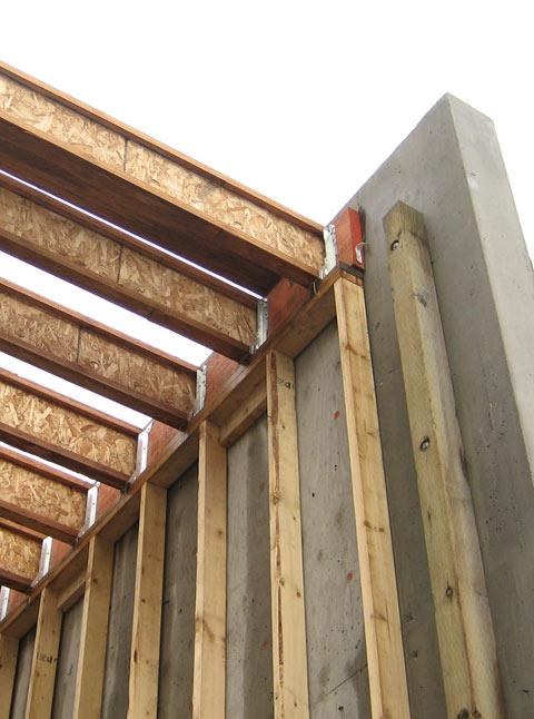 Esquimalt  concretewood connection  home building in