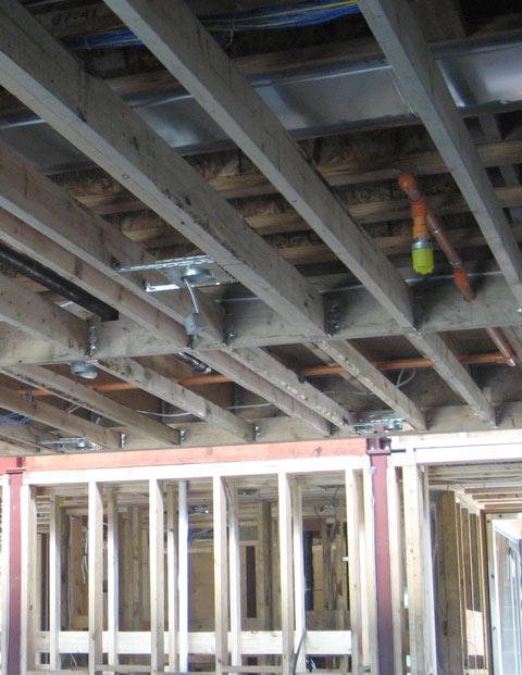 Furred Ceiling Drywall Walls : Furred ceiling framing energywarden