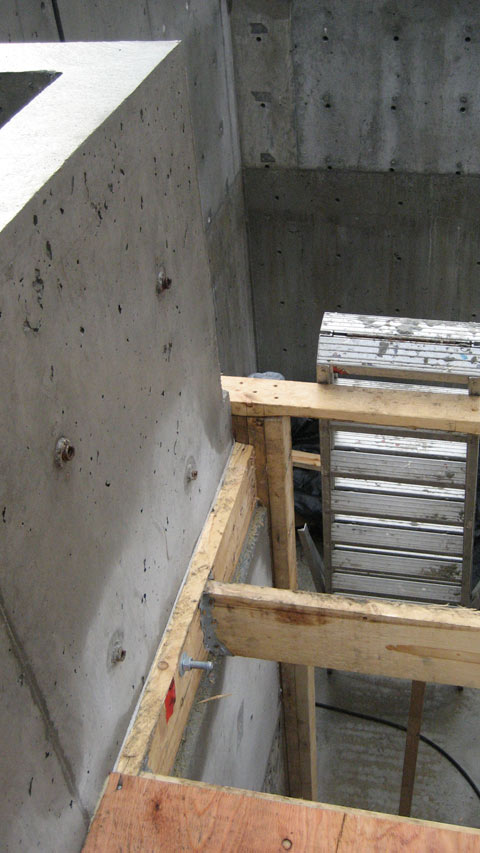 Attach Wood Frame To Concrete Floor Frameswalls